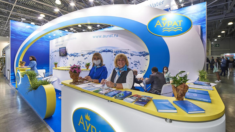 Выставочный стенд компании Аурат - фото 3