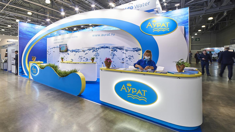 Выставочный стенд компании Аурат - фото 2