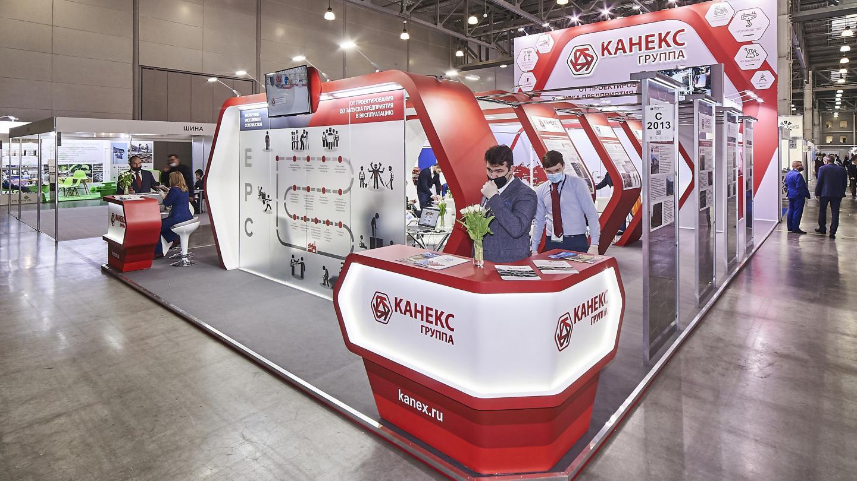 Дизайн стенда компании Канекс - фото-4