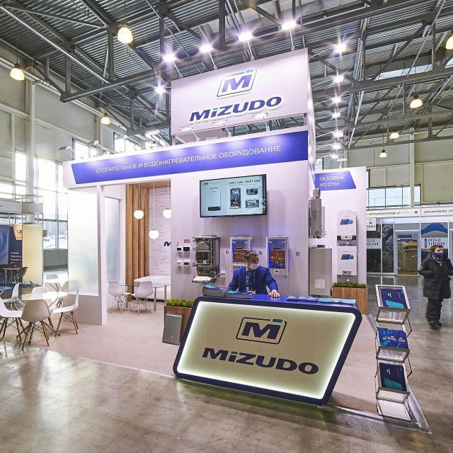 Стенд на выставку компании Мизудо