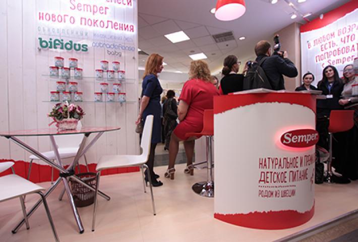 """Новое о стенде компании """"Семпер"""""""